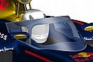 الحماية التي يُقدمها تصميم ريد بُل لمقصورة القيادة أفضل من تصميم الطوق لفيراري