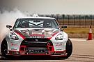 Nissan GT-R vestigt record voor snelste drift ter wereld