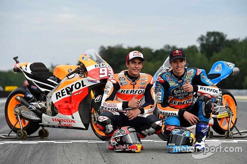 Márquez aposta que irmão Álex se acertará na Moto2