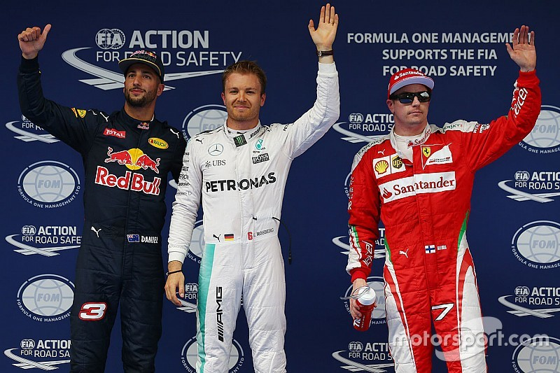 Rosberg eist eerste startplek op in China, Verstappen negende