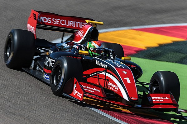 Aragón F3.5: Deletraz domina tras abandono de Orudzhev