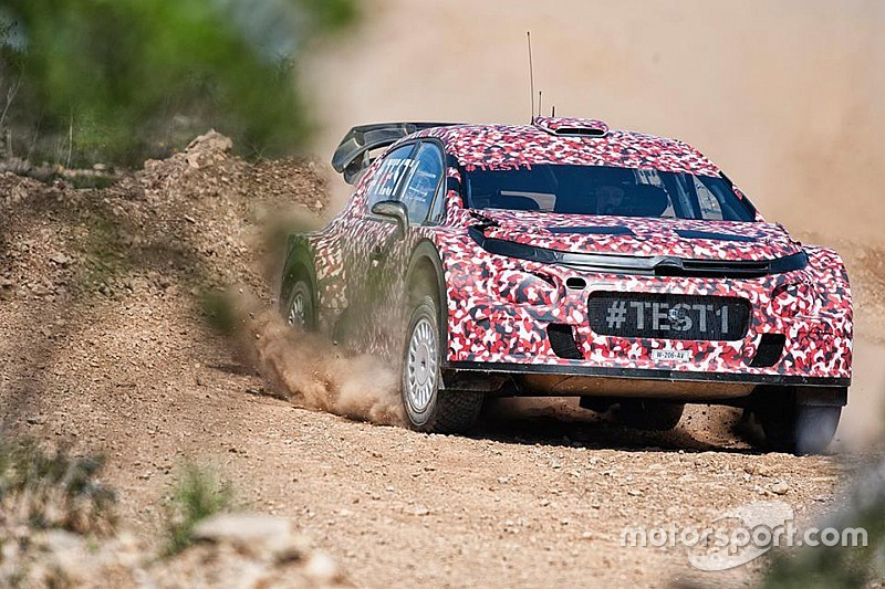 Kris Meeke über den Citroen C3 WRC: