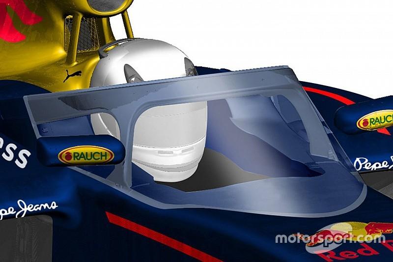 La cabina de Red Bull podría ya estar lista para competir en 2017