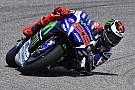 Lorenzo golpea primero en el GP de España