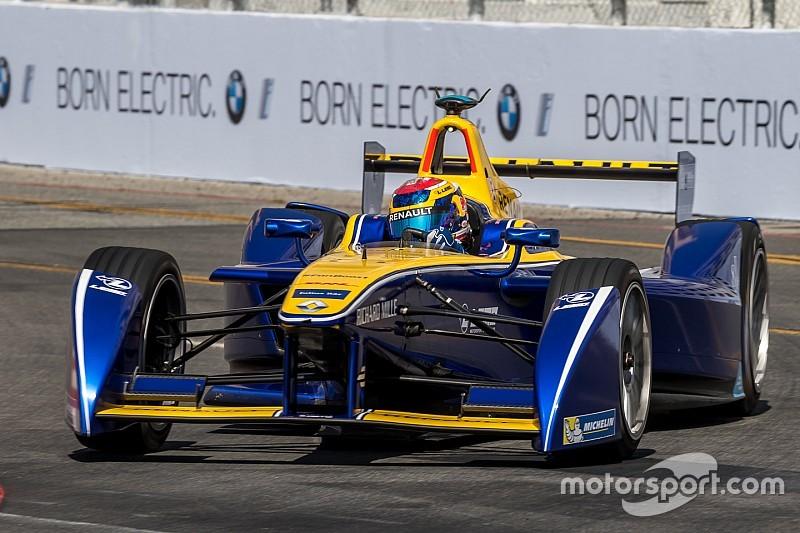 Buemi begint als snelste aan Formule E-weekend Parijs