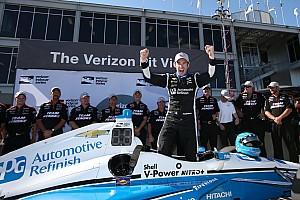 IndyCar Reporte de calificación Pagenaud vence a Power para llevarse la pole en Barber