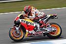 Jerez, Warm-Up: Marquez mette in fila le due Yamaha