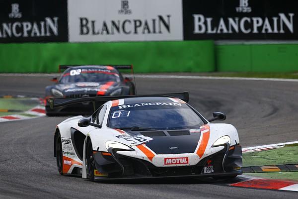 La McLaren Garage 59 s'impose lors de l'ouverture à Monza
