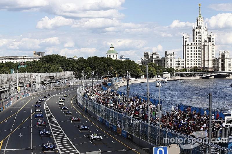 La carrera de Fórmula E de Moscú será cancelada