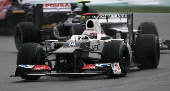 Kobayashi: Şangay Sauber'in işini kolaylaştıracak