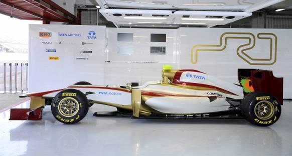 HRT'nin 2012 aracı ilk kez piste çıktı