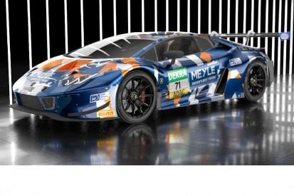 T3 präsentiert ersten Lamborghini fürs ADAC GT Masters 2021