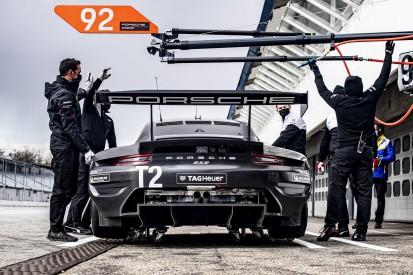 Porsche 911 RSR-19 (2021): Schalldämpfer auch bei WEC-Werksautos