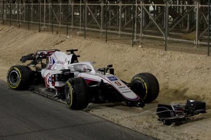 """Nikita Masepin über Bahrain-Unfall: """"Bin darüber hinweg"""""""
