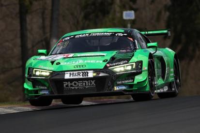 24h-Qualifikationsrennen: Bestzeit und Dreher für Phoenix-Audi