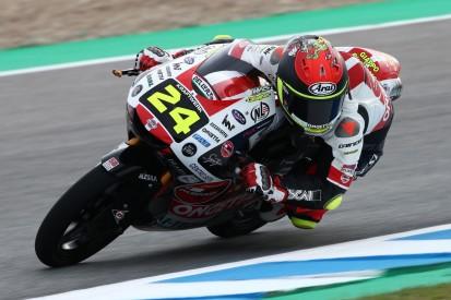 Moto3 in Assen FT1: Tatsuki Suzuki trotz Highsider Tagesschnellster