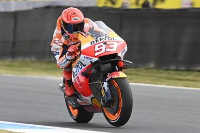 MotoGP Assen FT2: Marquez-Highsider sorgt für Schrecksekunde, Vinales auf P1