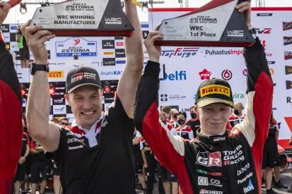 Erster WRC-Sieg von Kalle Rovanperä: So sehr litt Vater Harri!