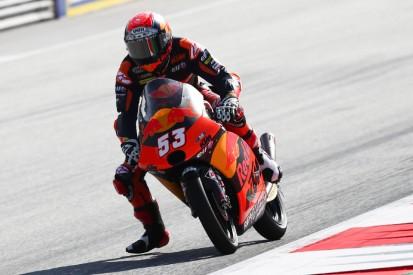 Moto3-Qualifying Spielberg 1: Erste Poleposition für Deniz Öncü