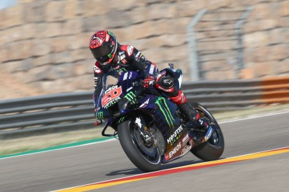MotoGP Aragon FT3: Quartararo führt enges Feld an - Marquez stürzt erneut