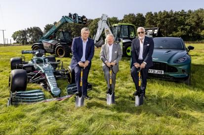 Baubeginn: Lawrence Stroll investiert 230 Millionen Euro in neue Fabrik