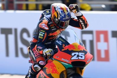 Moto2-Rennen Misano: Raul Fernandez siegt erneut vor Gardner