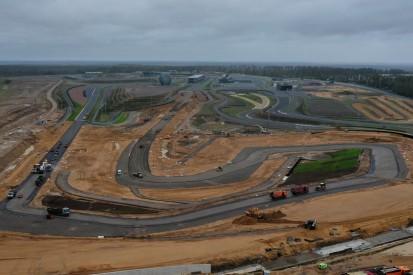 St. Petersburg: Asphaltierung des neuen Formel-1-Layouts hat begonnen