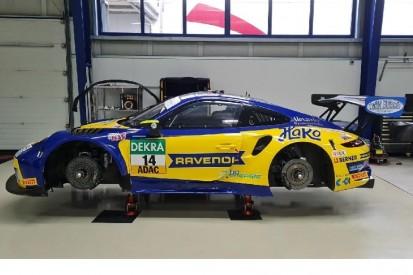 MRS-GT-Porsche in neuem Look und mit Ragginger