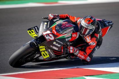 Aprilia in Misano: Vinales erwartungsvoll, Savadori wieder auf dem MotoGP-Bike