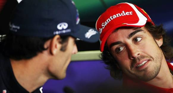 Alonso'dan Webber'e esprili mesaj
