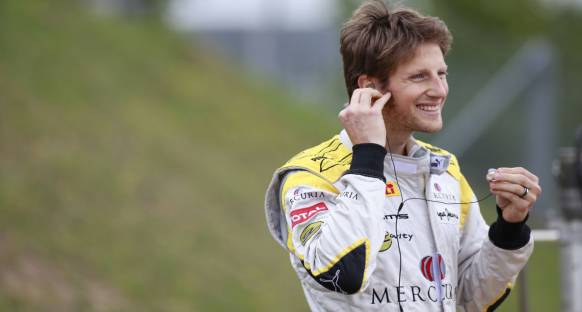 Grosjean Kimi'yle rekabete hazır
