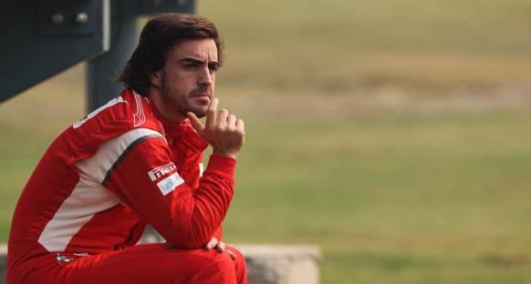 Alonso'nun sıralama turları hedefi ilk dört içinde olmak