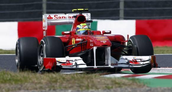 Massa: Hamilton'la aynı sırada olmanın önemi yok