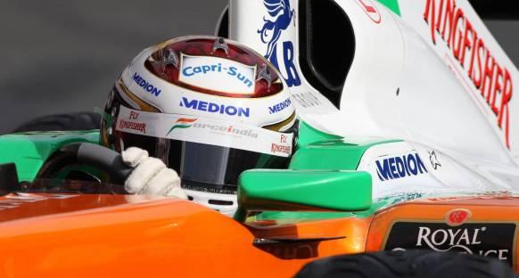 Sutil: VJM04 F1'de kullandığım en iyi araç
