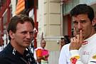 Horner'a Webber'in kötü startları soruldu