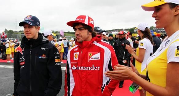 Alonso: 'Vettel büyük bir şampiyon'