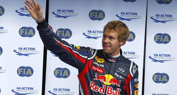 Vettel Belçika'da zafere ulaştı ve şampiyonluğa çok az kaldı