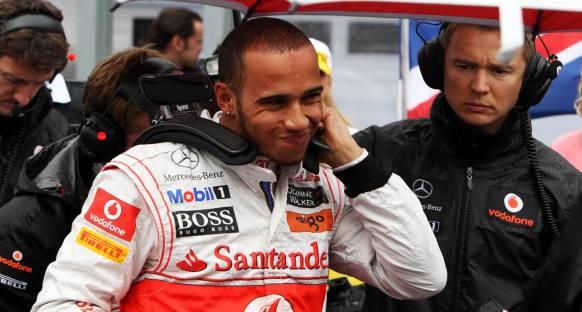 Hamilton: Büyük bir kazadan kurtulduğum için şanslıyım