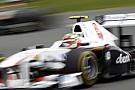 Sauber sıralama turlarından memnun kaldı