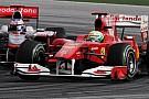 Ferrari'den Button açıklaması