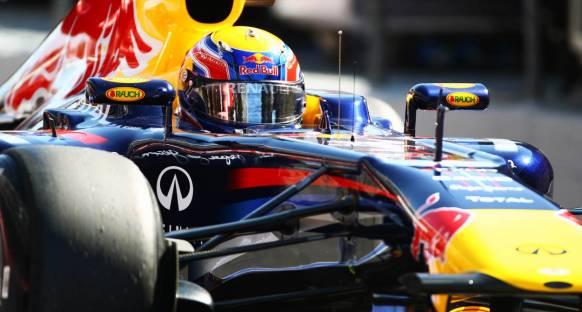 2011 İspanya Grand Prix sıralama turları - Webber tek turla pol pozisyonunda