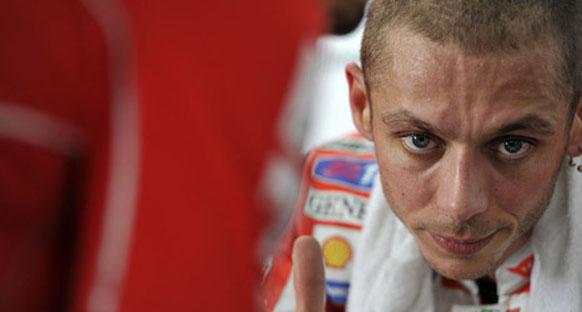 Rossi testlerden üzgün ayrıldı
