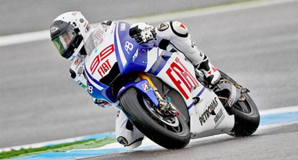 Lorenzo son antremanlarda da en hızlı