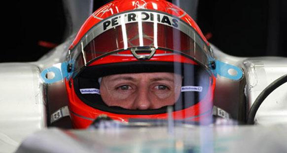 Schumacher: 'Spa'da 7 rakamı benim için özel'
