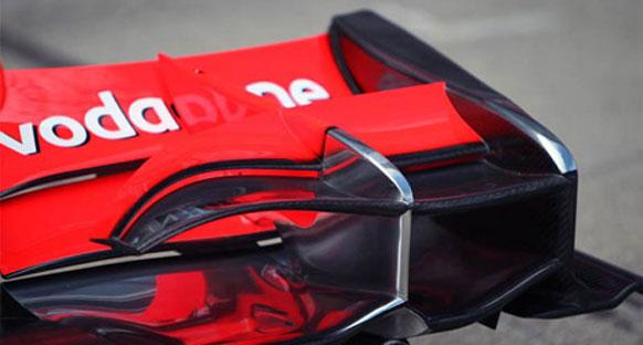McLaren rakiplerinin ön kanadını taklit edecek