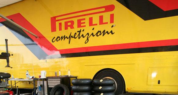 F1'in yeni lastiği Pirelli