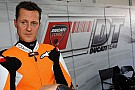 Schumi motosiklet hobisinde profesyonelleşiyor
