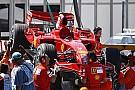 Ferrari pilotları hafta sonu için iyimser