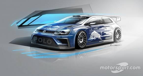 2017 Volkswagen Polo WRC'nin ilk görüntüleri