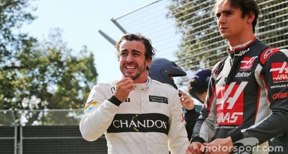Alonso: Annem merak etmesin diye araçtan hemen çıktım